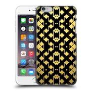 Official Magdalena Hristova Ornaments Black & Gold Hard Back Case For Apple Iphone 6 Plus / 6S Plus