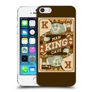 Official Lantern Press Man Cave King Card Hard Back Case For Apple Iphone 5 / 5S / Se