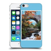 Official Lantern Press National Park Acadia Hard Back Case For Apple Iphone 5 / 5S / Se