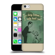 Official Lantern Press Man Cave In Dog Beers Hard Back Case For Apple Iphone 5C