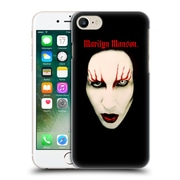 Official Marilyn Manson Key Art Big Face Red Lips Hard Back Case For Apple Iphone 7