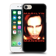 Official Marilyn Manson Key Art Bigger Than Satan Face Hard Back Case For Apple Iphone 7