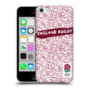 Official England Rugby Union 2016/17 Patterns Red Outline Rose Hard Back Case For Apple Iphone 5C