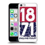 Official England Rugby Union 2016/17 The Rose 1871 Hard Back Case For Apple Iphone 5C