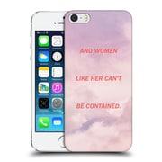 Official Efty Quotation Women Hard Back Case For Apple Iphone 5 / 5S / Se