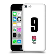Official England Rugby Union 2016/17 Home Kit Position 9 Hard Back Case For Apple Iphone 5C