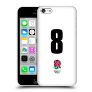 Official England Rugby Union 2016/17 Home Kit Position 8 Hard Back Case For Apple Iphone 5C