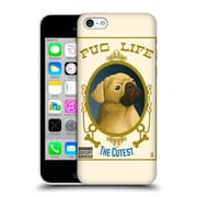 Official Lantern Press Dog Collection Pug Life Hard Back Case For Apple Iphone 5C
