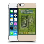 Official Lantern Press Man Cave Someone Keeps Putting Vegetables Hard Back Case For Apple Iphone 5 / 5S / Se