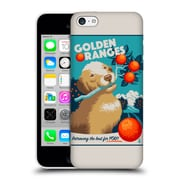 Official Lantern Press Dog Collection Golden Oranges Hard Back Case For Apple Iphone 5C