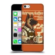 Official Lantern Press Dog Collection German Sheperd Hard Back Case For Apple Iphone 5C