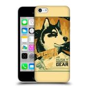 Official Lantern Press Dog Collection Husky Hard Back Case For Apple Iphone 5C