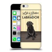 Official Lantern Press Dog Collection Labrador Hard Back Case For Apple Iphone 5C