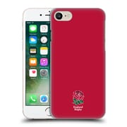 Official England Rugby Union 2016/17 The Rose Plain Red Hard Back Case For Apple Iphone 7