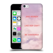 Official Efty Quotation Women Hard Back Case For Apple Iphone 5C