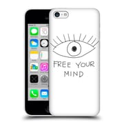 Official Efty Quotation Mind Hard Back Case For Apple Iphone 5C