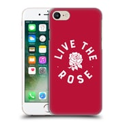 Official England Rugby Union 2016/17 The Rose Live The Rose Hard Back Case For Apple Iphone 7