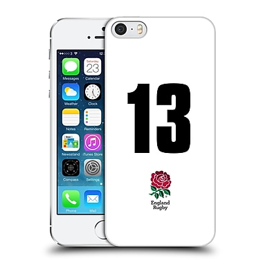 Official England Rugby Union 2016/17 Home Kit Position 13 Hard Back Case For Apple Iphone 5 / 5S / Se