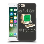 Official Dinomike Fun Illustrations My Memory Is Terrible Hard Back Case For Apple Iphone 7