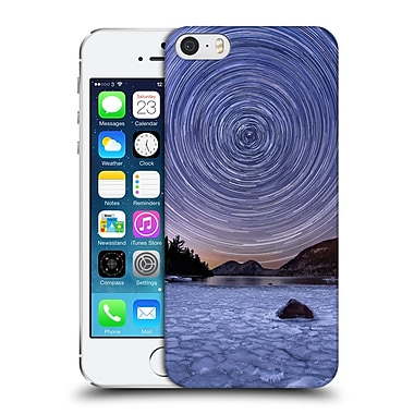 Official Michael Blanchette Night Sky Circles Over Bubbles Hard Back Case For Apple Iphone 5 / 5S / Se