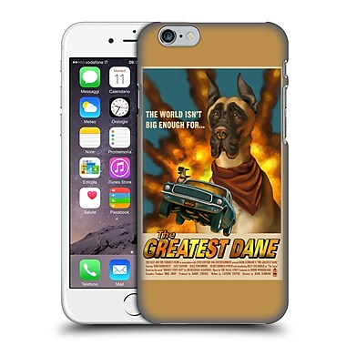 Official Lantern Press Dog Collection Greatest Dane Hard Back Case For Apple Iphone 6 / 6S