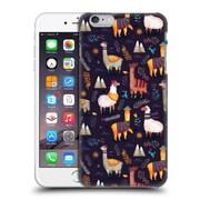 Official Oilikki Animal Patterns Llamas Hard Back Case For Apple Iphone 6 Plus / 6S Plus