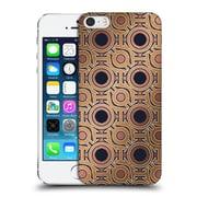 Official Magdalena Hristova Ornaments Gold & Dark Rose Hard Back Case For Apple Iphone 5 / 5S / Se