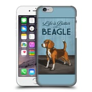 Official Lantern Press Dog Collection Beagle Hard Back Case For Apple Iphone 6 / 6S