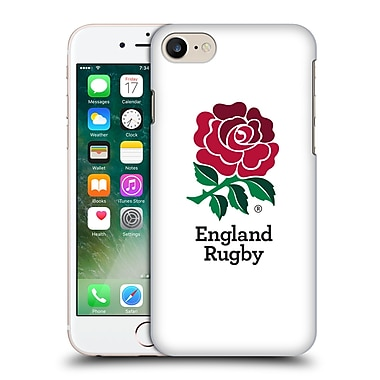Official England Rugby Union 2016/17 The Rose Home Kit Hard Back Case For Apple Iphone 7