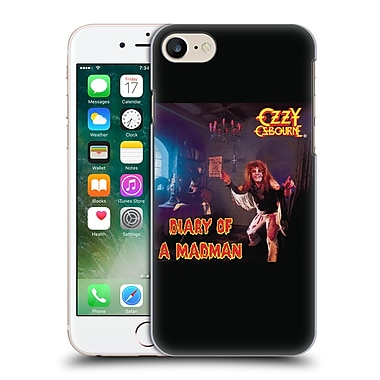 Official Ozzy Osbourne Album Cover Art Diary Of A Madman Hard Back Case For Apple Iphone 7