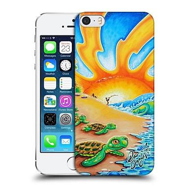 Official Drew Brophy Surf Art 2 Turtle Beach Hard Back Case For Apple Iphone 5 / 5S / Se