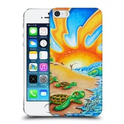 Official Drew Brophy Surf Art 2 Turtle Beach Hard Back Case For Apple Iphone 5 / 5S / Se