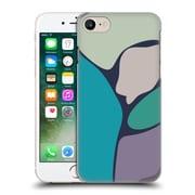 Official Magdalena Hristova Clean Lines 2 Teal Hard Back Case For Apple Iphone 7