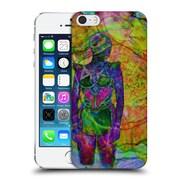 Official Magdalena Hristova Girl Multicolour 3 Hard Back Case For Apple Iphone 5 / 5S / Se