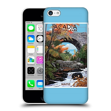 Official Lantern Press National Park Acadia Hard Back Case For Apple Iphone 5C