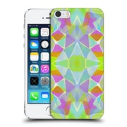 Official Amy Sia Kaleidoscope Chroma Lime Hard Back Case For Apple Iphone 5 / 5S / Se