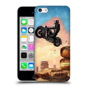 Official Eric Joyner Donuts Dark Rider Again Hard Back Case For Apple Iphone 5C