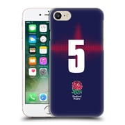 Official England Rugby Union 2016/17 Alternate Kit Position 5 Hard Back Case For Apple Iphone 7
