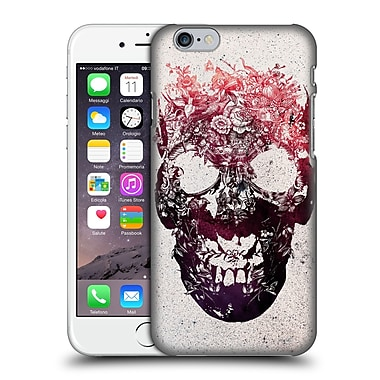 Official Ali Gulec The Message Foral Skull Hard Back Case For Apple Iphone 6 / 6S