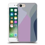 Official Magdalena Hristova Clean Lines 2 Lilac 2 Hard Back Case For Apple Iphone 7