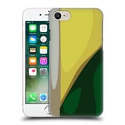 Official Magdalena Hristova Clean Lines 3 Dark Green 2 Hard Back Case For Apple Iphone 7