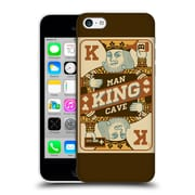 Official Lantern Press Man Cave King Card Hard Back Case For Apple Iphone 5C