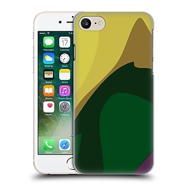 Official Magdalena Hristova Clean Lines 3 Dark Green Hard Back Case For Apple Iphone 7