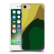 Official Magdalena Hristova Clean Lines 3 Dark Green Hard Back Case For Apple Iphone 7