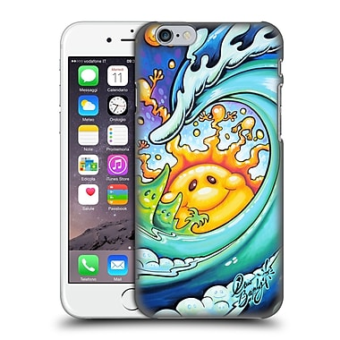 Official Drew Brophy Surf Art Feeling Happy Hard Back Case For Apple Iphone 6 / 6S