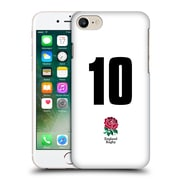 Official England Rugby Union 2016/17 Home Kit Position 10 Hard Back Case For Apple Iphone 7