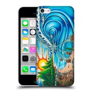 Official Drew Brophy Surf Art 2 Wall Of Skulls Hard Back Case For Apple Iphone 5C