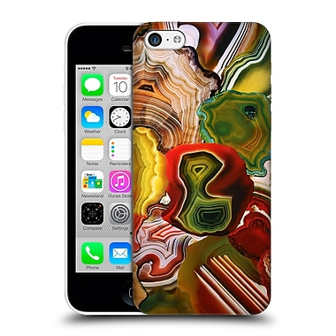 Official Elena Kulikova Agates Slivers Of The Past, Earth'S Core Hard Back Case For Apple Iphone 5C