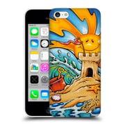 Official Drew Brophy Surf Art Sand Castle Hard Back Case For Apple Iphone 5C