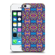 Official Amy Sia Tribal Patchwork Blue Hard Back Case For Apple Iphone 5 / 5S / Se